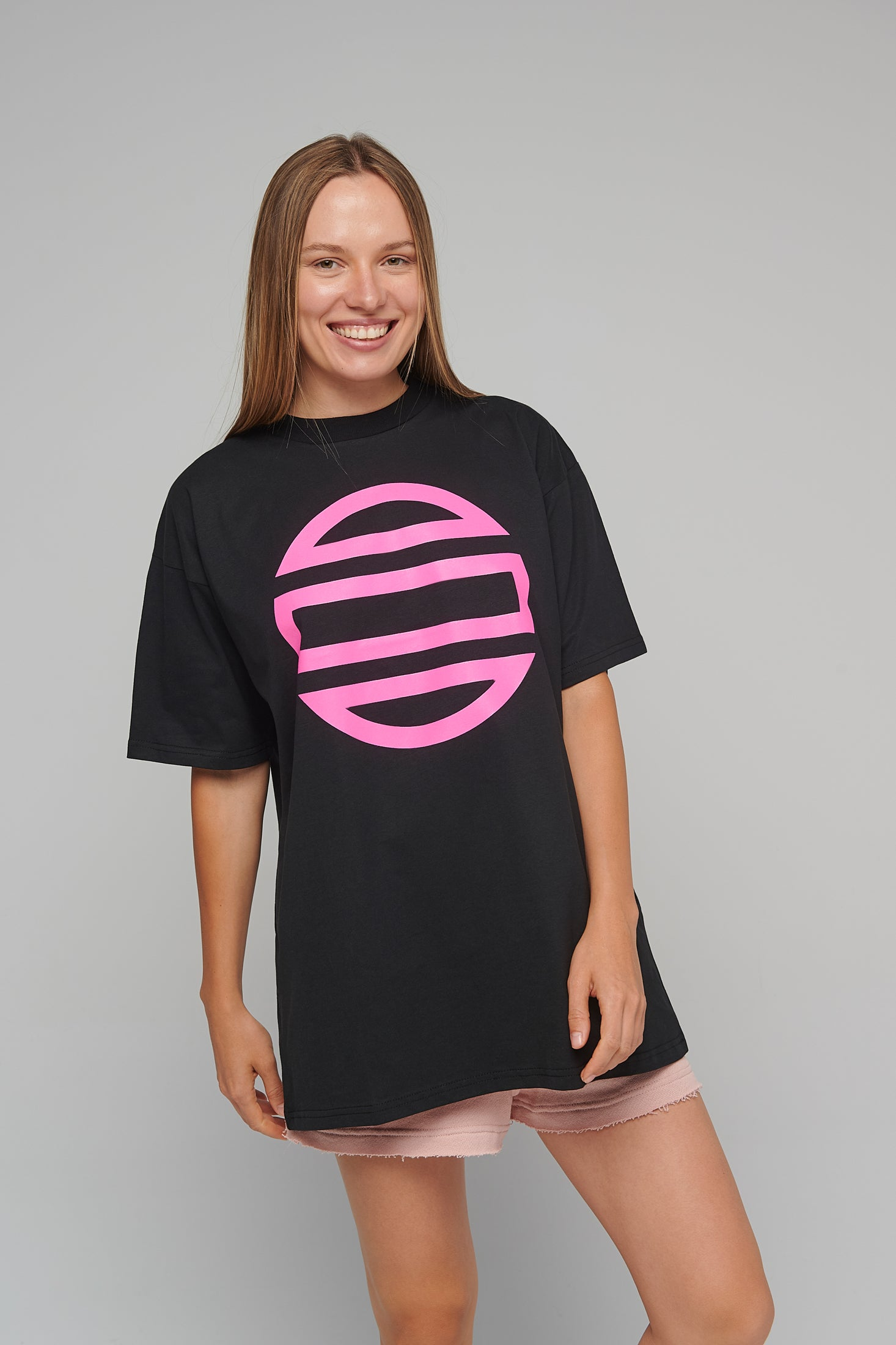Theta Goes Magenta Unisex One size T-shirt
