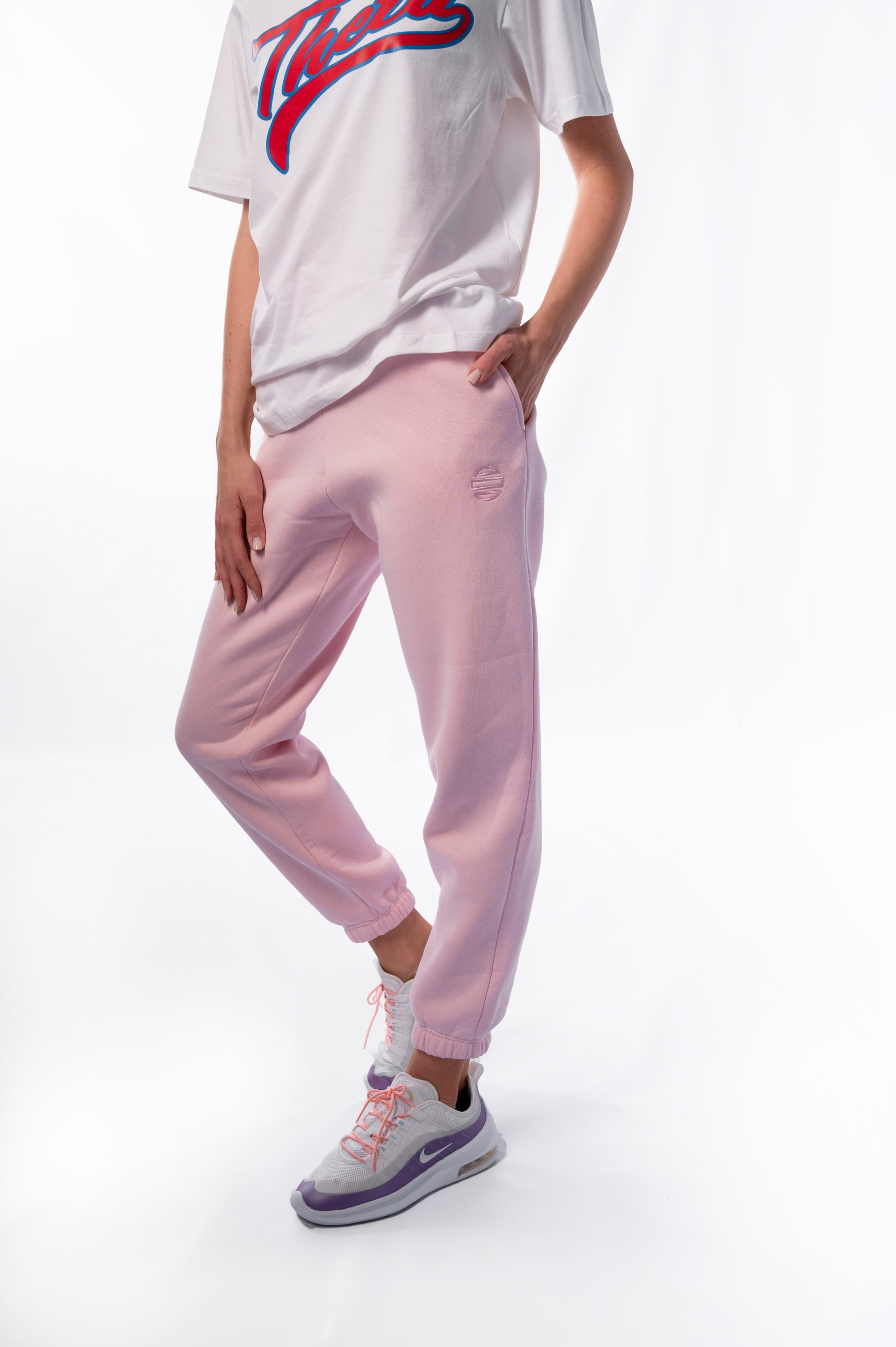 Unisex Pink Sweatpants