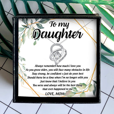 ALWAYS REMEMBER HOW MUCH I LOVE YOU - NECKLACE FOR DAUGHTER FROM MOM