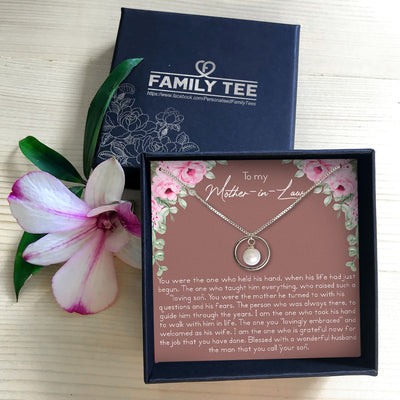 THE ONE - NECKLACE FOR MOTHER-IN-LAW