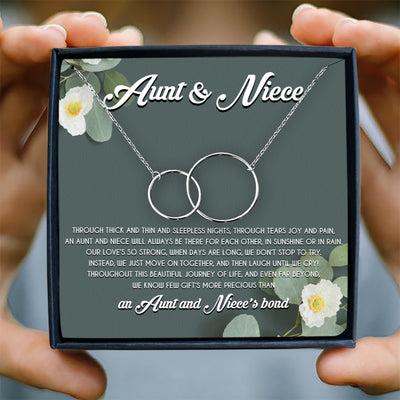 WE JUST MOVE ON TOGETHER - NECKLACE FOR NICE AND AUNT