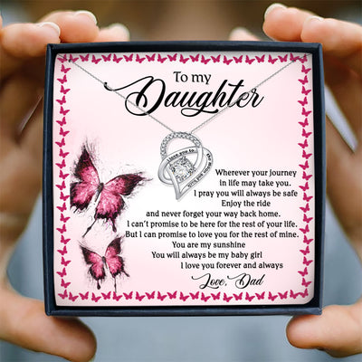 YOU WILL ALWAYS BE MY BABY GIRL - NECKLACE FOR DAUGHTER FROM DAD