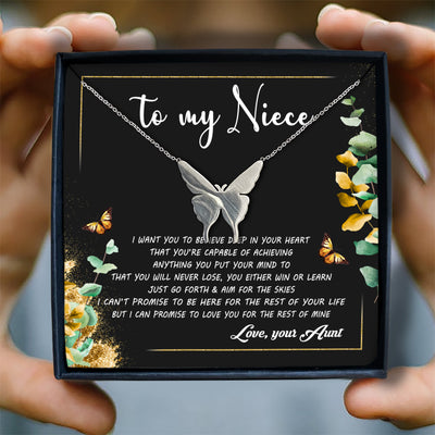 I WANT YOU TO BELIEVE DEEP IN YOUR HEART - NECKLACE FOR NIECE
