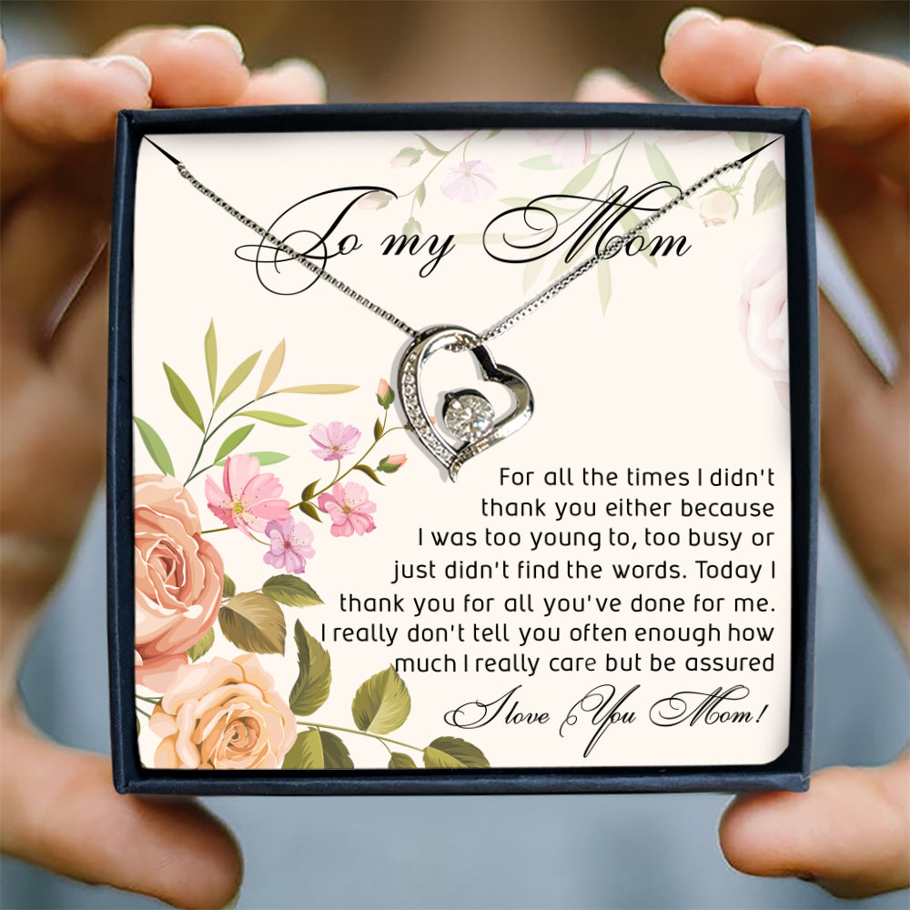 TODAY I THANK YOU FOR ALL YOU'VE DONE FOR ME - SPECIAL GIFT FOR MOM