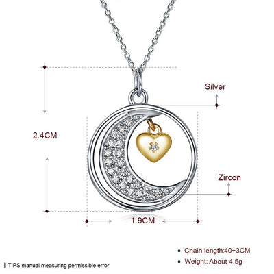 I LOVE YOU YOU FOREVER AND ALWAYS - NECKLACE FOR DAUGHTER