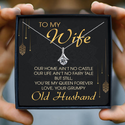 YOU'RE MY QUEEN FOREVER  - NECKLACE FOR WIFE