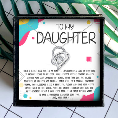 A WONDERFUL DAUGHTER LIKE YOU - NECKLACE FOR DAUGHTER FROM MOM
