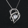 I LOVE YOU WITH MY WHOLE HEART - NECKLACE FOR WIFE FROM HUSBAND