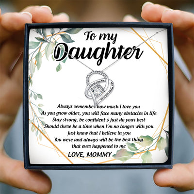 ALWAYS REMEMBER HOW MUCH I LOVE YOU - NECKLACE FOR DAUGHTER FROM MOMMY