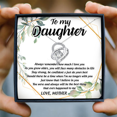 ALWAYS REMEMBER HOW MUCH I LOVE YOU - NECKLACE FOR DAUGHTER FROM MOTHER