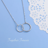 I LOVE YOU FOREVER & ALWAYS  - NECKLACE FOR DAUGHTER