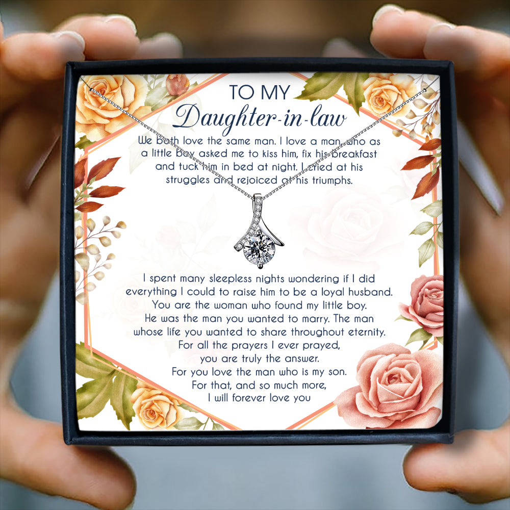 I WILL FOREVER LOVE YOU - NECKLACE FOR DAUGHTER-IN-LAW