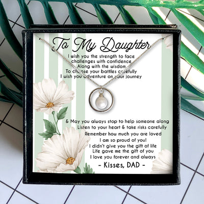 CHALLENGES WITH CONFIDENCE - NECKLACE FOR DAUGHTER FROM DAD