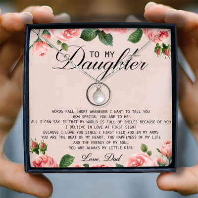 YOU ARE ALWAYS MY LITTLE GIRL - NECKLACE FOR DAUGHTER FROM DAD