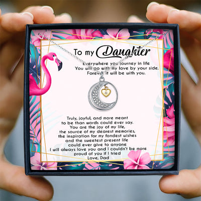 I WILL ALWAYS LOVE YOU - NECKLACE FOR DAUGHTER