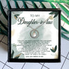 I SEE THE LOVE BLAZE FROM YOUR EYES - NECKLACE FOR DAUGHTER-IN-LAW
