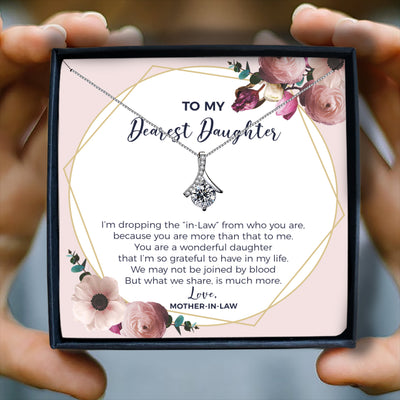 YOU ARE A WONDERFUL DAUGHTER - NECKLACE FOR DAUGHTER