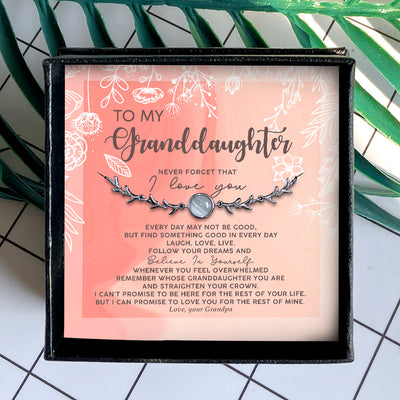BELIEVE IN YOURSELF - SPECIAL GIFT FOR GRANDDAUGHTER