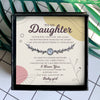 I AM ALWAYS RIGHT THERE IN YOUR HEART - SPECIAL GIFT FOR DAUGHTER