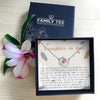 THANK YOU FOR ALL - CRYSTAL CLAVICLE NECKLACE FOR DAUGHTER-IN-LAW
