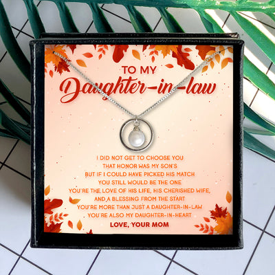 YOU'RE ALSO MY DAUGHTER-IN-HEART - NECKLACE FOR DAUGHTER-IN-LAW