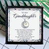 YOU'RE A VERY SPECIAL GRANDDAUGHTER - NECKLACE FOR GRANDDAUGHTER