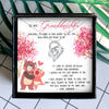 YOU WILL ALWAYS BE MY BABY GIRL - NECKLACE FOR GRANDDAUGHTER FROM GRANDPA