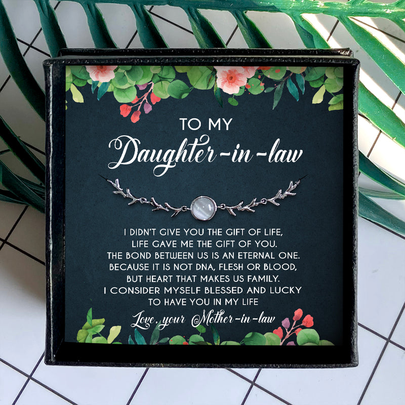 I CONSIDER MYSELF BLESSED AND LUCKY- SPECIAL GIFT FOR DAUGHTER-IN-LAW