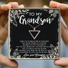 I WANT YOU TO BELIEVE DEEP IN YOUR HEART - SPECIAL GIFT FOR GRANDSON