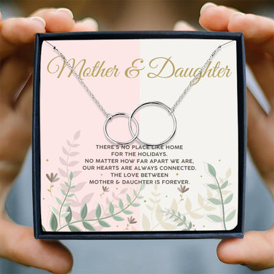 MOTHER & DAUGHTER IS FOREVER - NECKLACE FOR MOTHER AND DAUGHTER