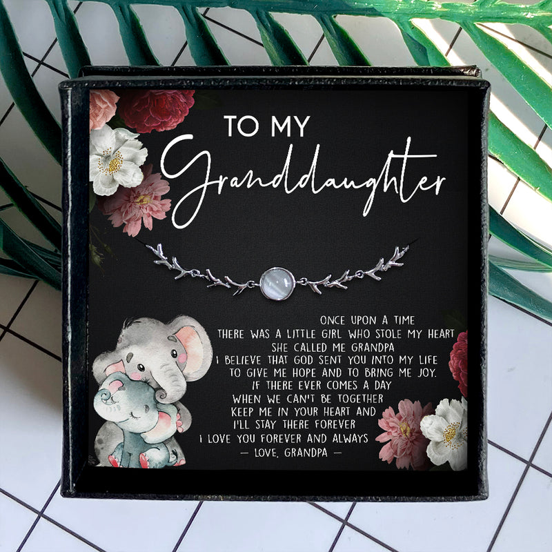 I LOVE YOU FOREVER AND ALWAYS - SPECIAL GIFT FOR GRANDDAUGHTER