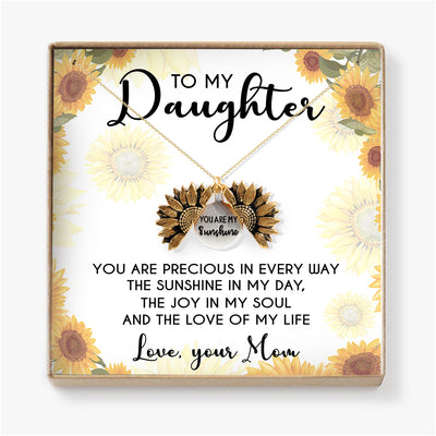 YOU ARE PRECIOUS IN EVERY WAY  - NECKLACE FOR DAUGHTER FROM MOM