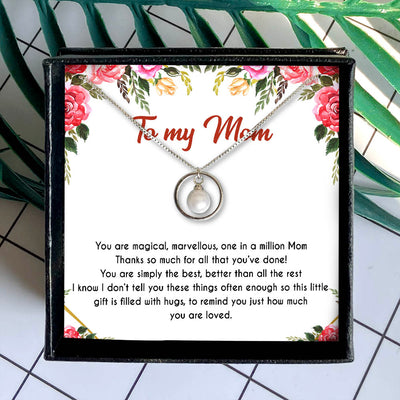 YOU ARE SIMPLY THE BEST - NECKLACE FOR MOM FROM DAUGHTER
