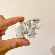 Load image into Gallery viewer, Howlite Elephant