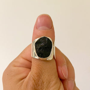 Black Tourmaline Ring #3