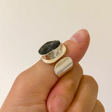 Load image into Gallery viewer, Black Tourmaline Ring #3