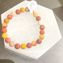 Load image into Gallery viewer, Mookaite Bracelet (Rounded)