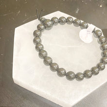Load image into Gallery viewer, Hematite Bracelet (Small Rounded)