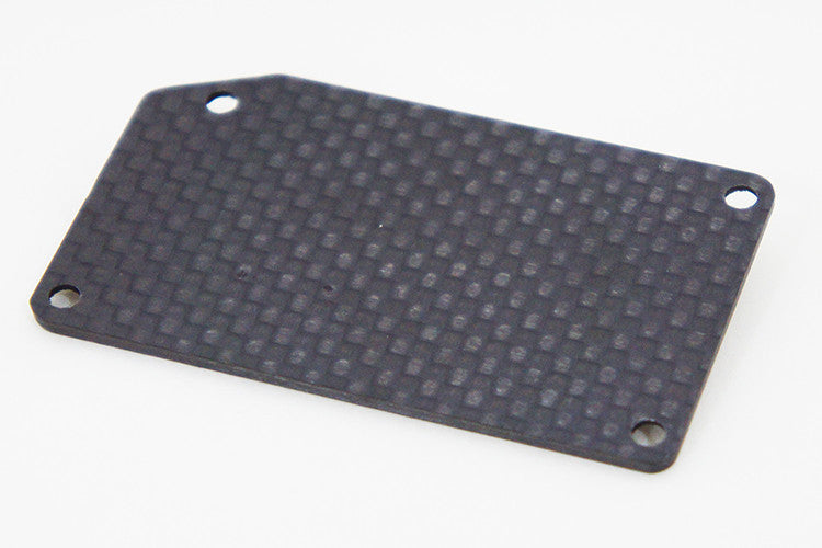 24908-2 Carbon radio box cover (rear)