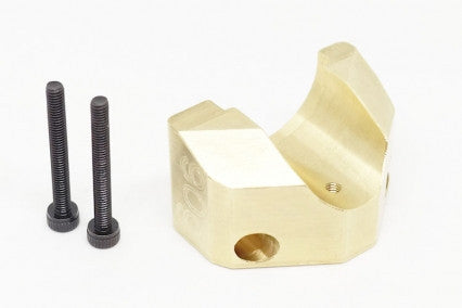 39990 Brass counter weight set 90g chassis front