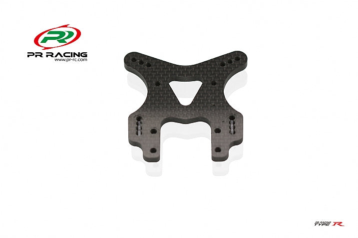75530016 PR S1 V3R 4mm Carbon Fiber Front Shock Tower-For TYPE R