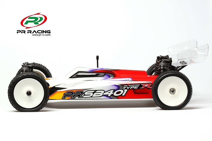 PR SB401-R 1/10 Electric 4wd Off Road Buggy Kit Lightweight Edition(Slipper Clutch)