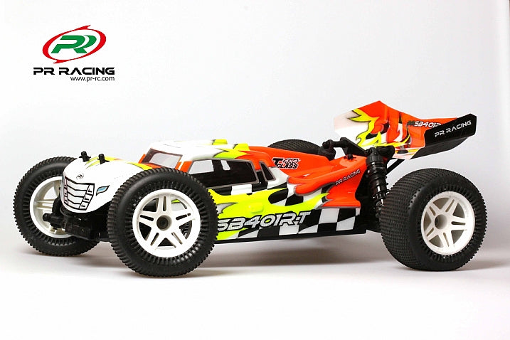 PR SB401R-T 1/10 Electric 4WD Off-Road Stadium Truck Truggy w/Aluminum Caster Blocks