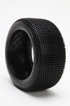 BE3111 V-Max Truggy Tire (White Wheel) (Pr) PRE GLUED