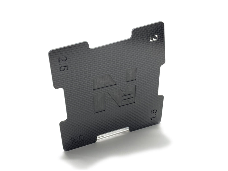 NMR9001 Nemo Racing Carbon Fiber Camber Gauge