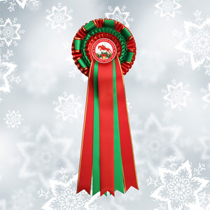 'Dancer' Christmas Decorative Rosette