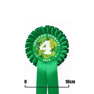 One Tier Rosette with One PRINTED Tail