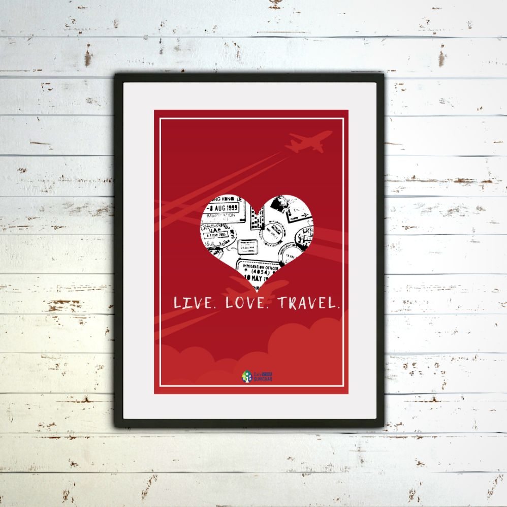 Live Love Travel - Poster