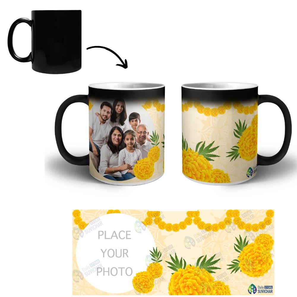 Genda Phool - Personalized Magic Mug COMBO