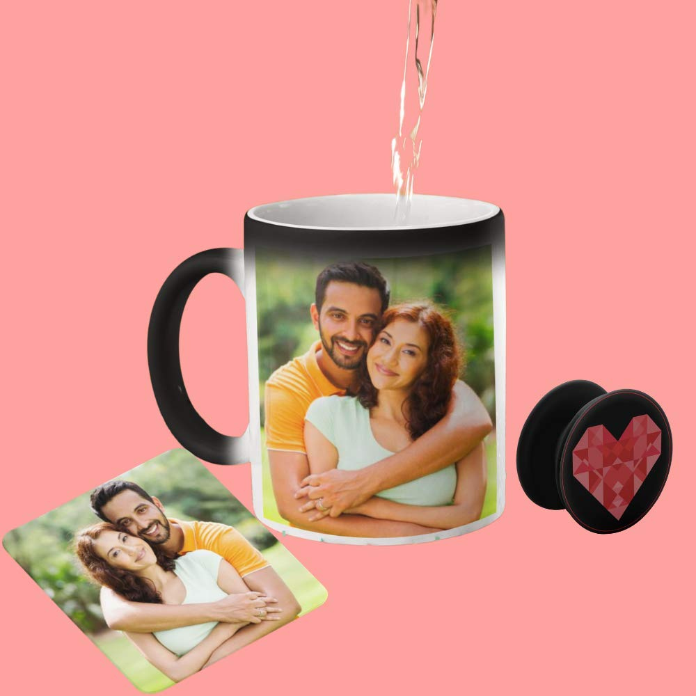 Personalized Magic Mug Combo